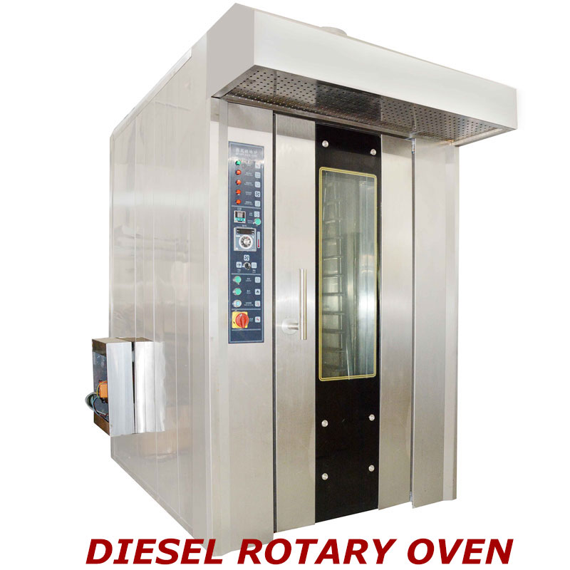 16 Trays Rotary Oven of Diesel