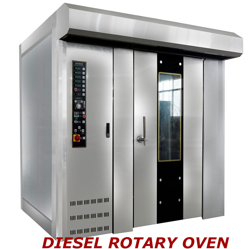 32 Trays Rotary Oven of Diesel