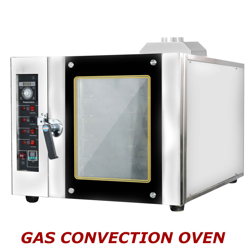 3 Trays Gas Convection Oven
